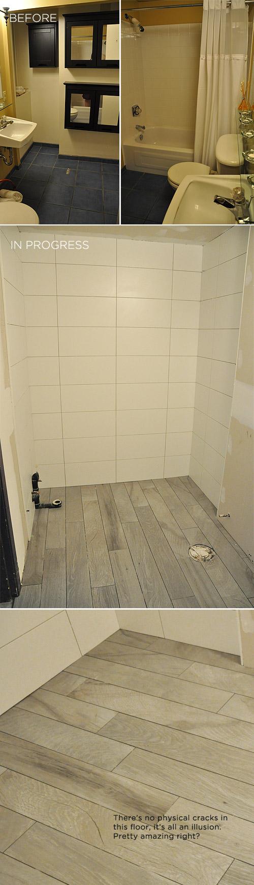 Downstairs Bathroom Sneak Peek Visualheart