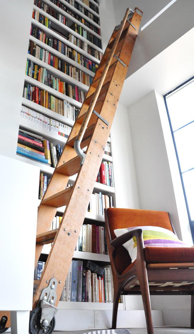 loft library ladder
