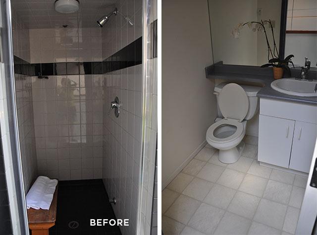 upstairs bathroom renovation before