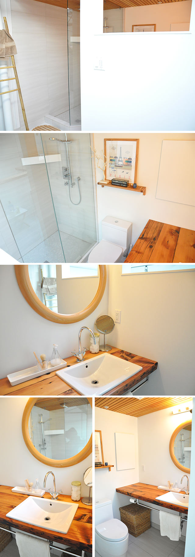 Upstairs Bathroom - After